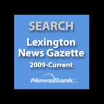 Lexington News Gazette search square icon
