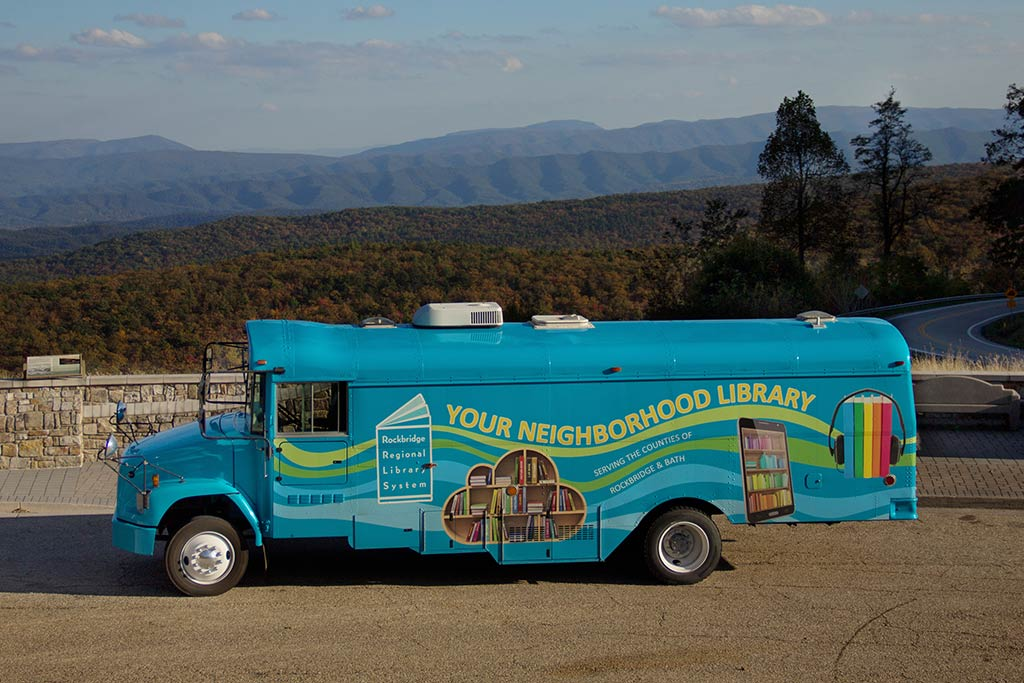 Rockbridge Regional Library Bookmobile